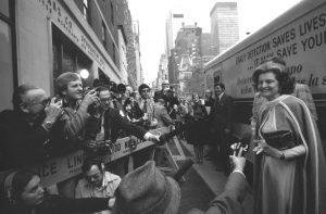 Betty Ford at an ACS event