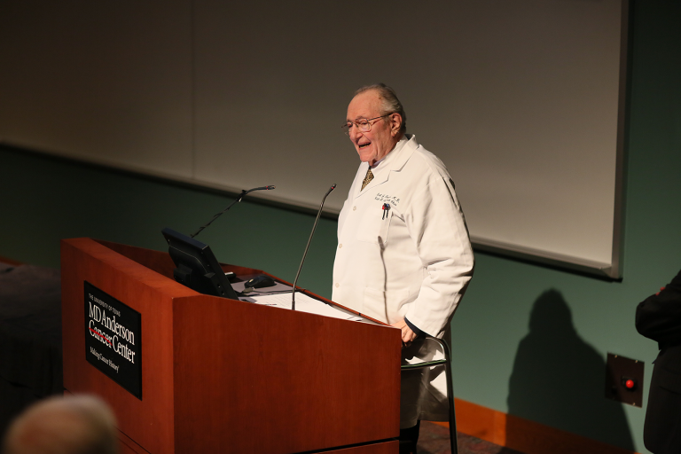 Emil J. Freireich M.D., Clinical Professor, Leukemia, Faculty Educator Of the Month, 2016