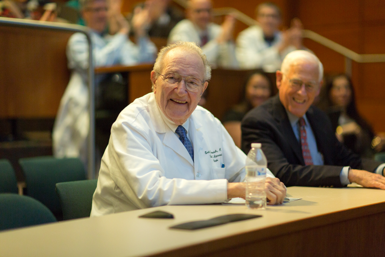 Dr. Freireich in 2016