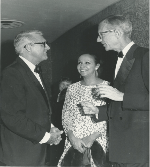 Jane Wright and other ASCO founders Herman H. Freckman and Arnoldus Goudsmit.