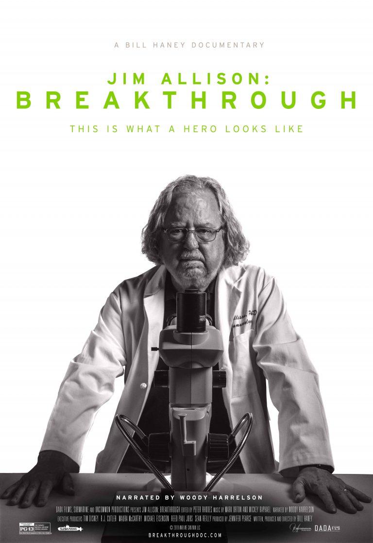 Jim Allison: Breakthrough - Film Poster