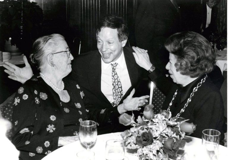 Helen Coley Nauts, Donald Gogel, and Mary Lasker. Mary Lasker, a cancer research advocate instrumental in the 1971 National Cancer Act, was awarded  the CRI Oliver R. Grace Award for Distinguished Service in Advancing Cancer Research in 1977.