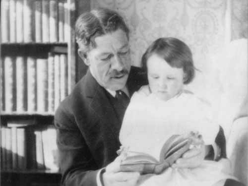 """Dr. William B. Coley, """"Father of Immunotherapy,"""" and his daughter Helen Coley Nauts"""
