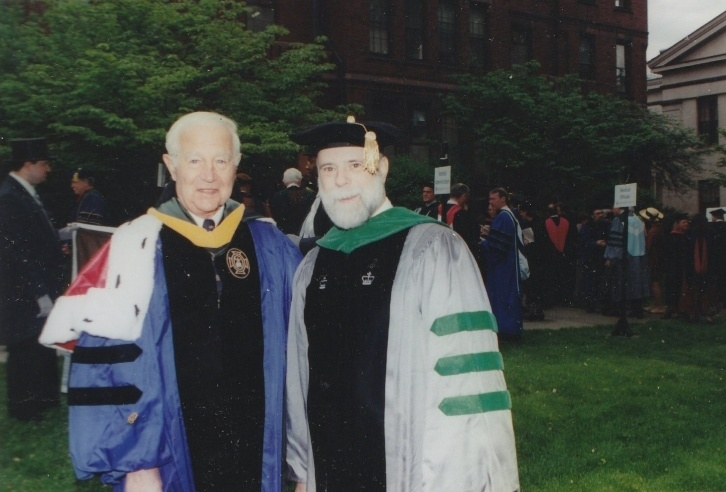 Paul Calabresi (left) with Michael Macko  (Past President of the Rhode Island Medical Society)