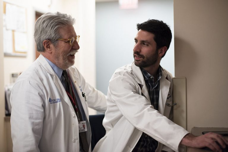 Dr. Robert Stuart has been an influential mentor to countless physicians, like Dr. Brian Hess, as well as nurses and oncology fellows during his career at MUSC.