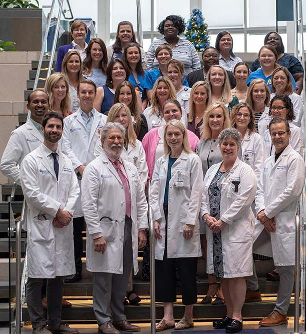 The BMT team at Hollings Cancer Center.