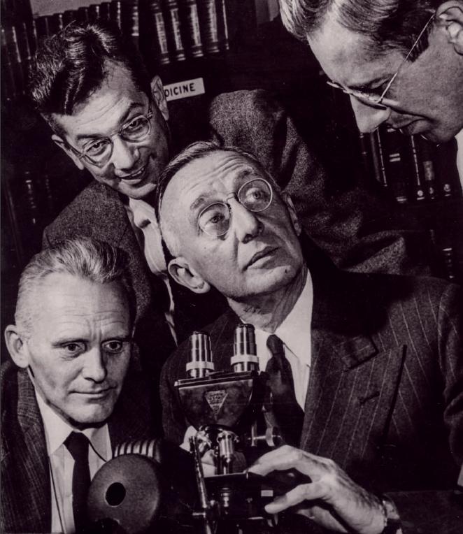 Hugh Creech, Jack Schultz, Stanley Reimann, Gerrit Toenies